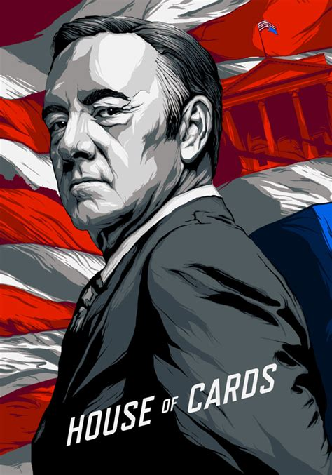 house of cards poster from blood to bbq 14 outstanding house of cards fan art pieces creative market blog