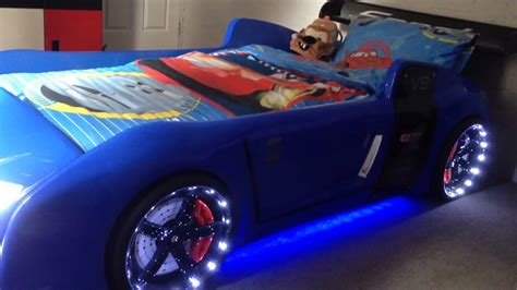 racecar toddler bed blue r8 extreme the ultimate car bed for kids youtube