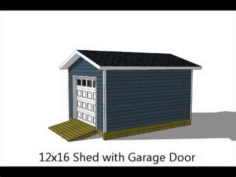 exciting  storage shed plans youtube