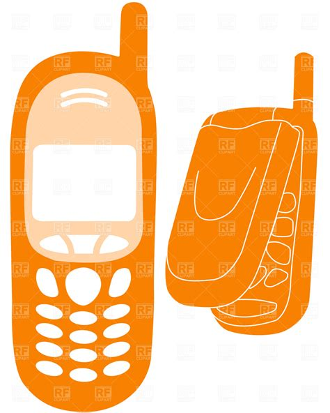 Mobile phones outline Vector Image #1896 ? RFclipart