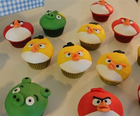 angry birds muffins rezepte pinterest muffins angry