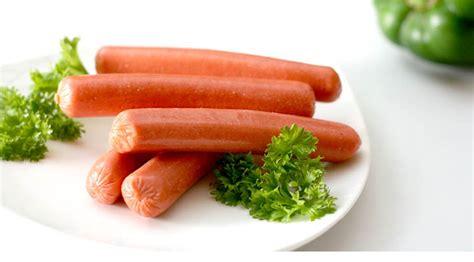 Chicken Sosis skinless beef sausage vienna processing