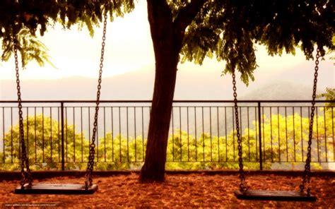 Swing Wallpaper by Wallpaper Swing Tree Background Free Desktop