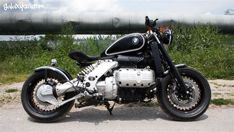 BMW K1200RS Visits Galaxy Custom, Becomes a Radical Bobber