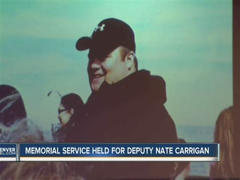 mourners gather for park county deputy nate carrigan s