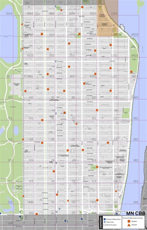 st goes on what side 100 manhattan map royalty free rf clipart illustration of a manhattan map