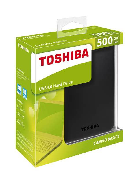 toshiba 500gb usb 3 0 portable external drive kp computers