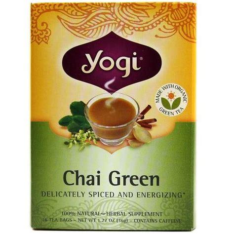 Yogi Detox Tea Ok For High Blood Pressure by Yogi Tea Organic Teas Blend Chai Green 16 Bags