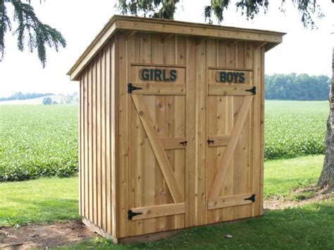 Outhouse Storage Shed Plans by Best 25 Outhouse Ideas Ideas On Outhouse