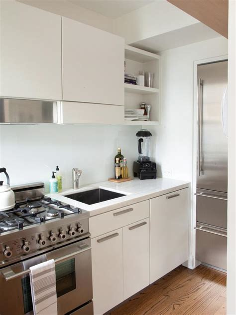 kitchen design with white appliances small space kitchen with white cabinets hgtv