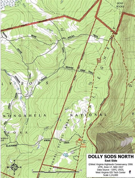 dolly sods map dolly sods maplets