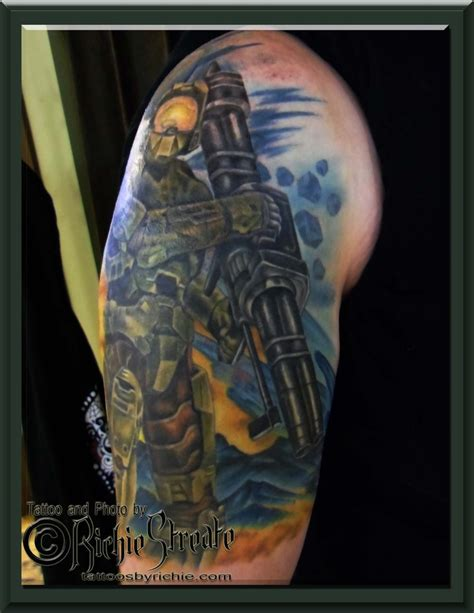 halo tattoo 67 best s by richie streate images on
