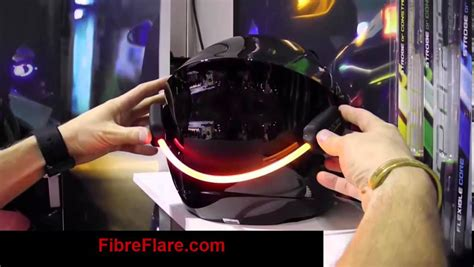 fibre flare bike light fibre flare mvp bike helmet led light