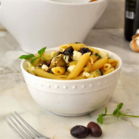 Sho Olive Di Apotik cooking with manuela mediterranean pasta salad with eggplants and olives