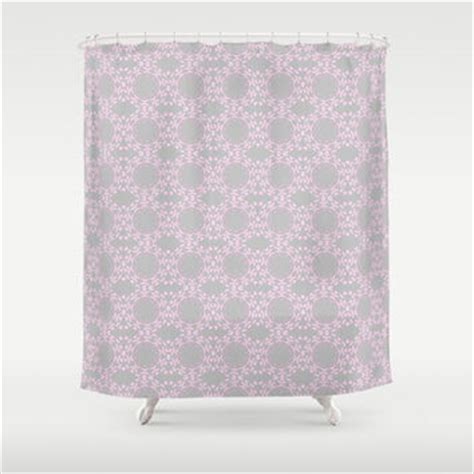 Grey And Pink Shower Curtain by Best Shower Curtains Pink With Grey Products On Wanelo