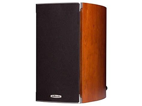 polk audio rti a3 bookshelf speakers pair cherry