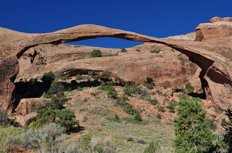 World Landscape Arch Devils Garden Arches National Park Your Hike Guide