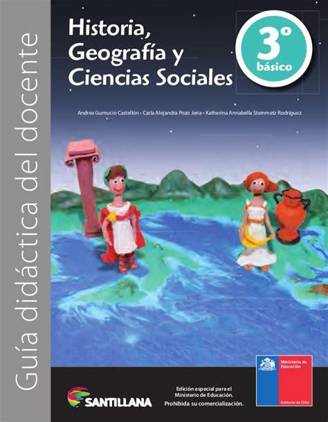 libro historia y geografia 2016 3 b historia santillana libro 3 basico