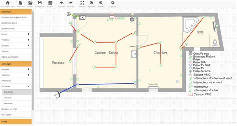 prise electrique plan de travail 1186 plan 233 lectrique et sch 233 ma 233 lectrique d une maison avec