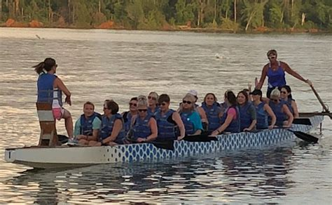 dragon boat knox city adventurous friends take on dragon boat festival to help