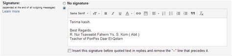 membuat signature pada gmail cara membuat signature pada email gmail everything