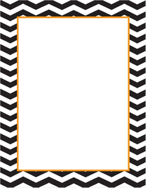 free chevron border template for word 8 best images of printable chevron stationery free