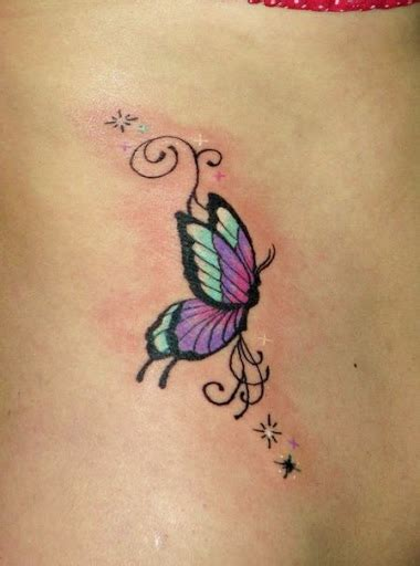 butterfly side tattoos 42 colorful butterfly ideas godfather style
