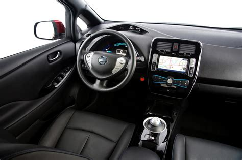 nissan leaf interior nissan leaf by range comparison 2012 vs 2013