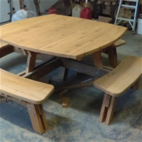 square picnic table plans square picnic table plan rockler woodworking and hardware