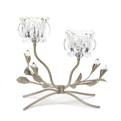 crystal home decor wholesale crystal flower candle stand wholesale at koehler home decor