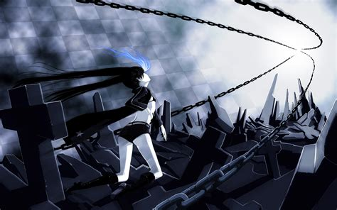 black rock shooter full hd black rock shooter full hd wallpaper and background