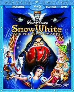 Snow White Supplement inside the box snow white and the seven dwarfs dvd and