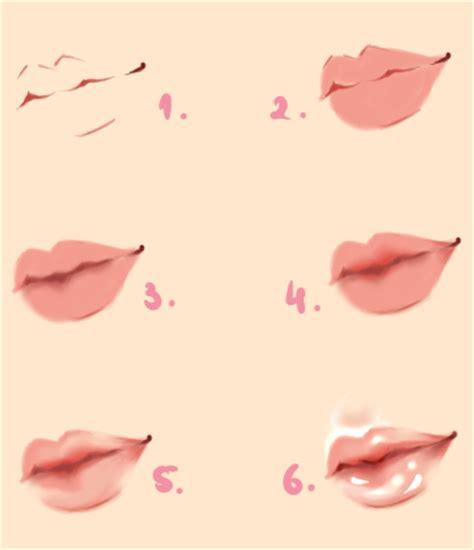 kiss lips tutorial lips tutorial by kipichuu on deviantart