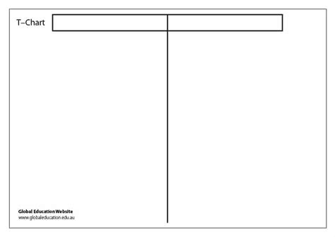 30 printable t chart templates exles template archive