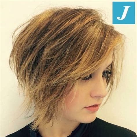 short choppy layered a line haircut 50 classy short bob haircuts and hairstyles with bangs