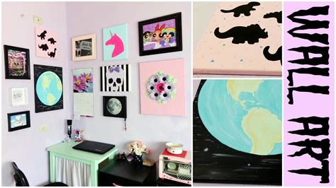 Easy Room Decor Diy Pastel Easy Room Decor Earth Dinosaur Wall My Crafts And Diy Projects