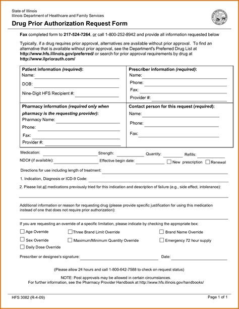 10 Humana Medicare Prior Authorization Form Lease Template Prior Authorization Form Template