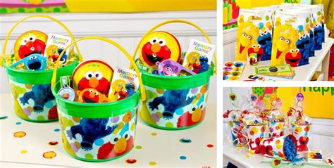 Sesame Street Giveaways - sesame street party favors tattoos bubbles toys more