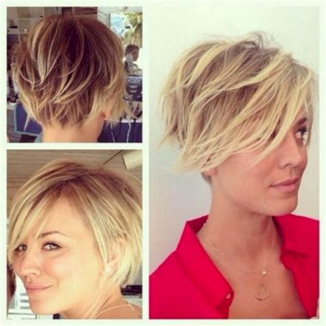 kaley cuoco new short hairdo kaley cuoco short hairstyle 22 tuku oke