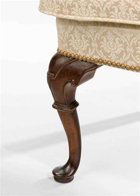 idesign furniture george i design walnut framed wing chair at 1stdibs