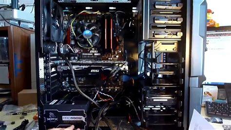 componenti interni pc assemblaggio completo pc da gaming budget 1100 1200