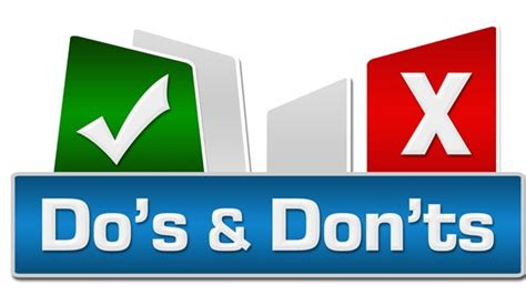 20 Dos And Donts Of A Date by Uniemploy International The Do S And Don Ts Of Cv Writing