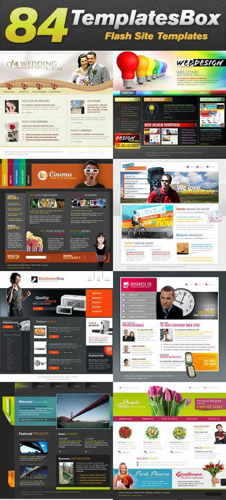 xml templates for website activeden flash xml templates by ignitethemes