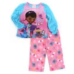 disney junior doc mcstuffins toddler girls pink pajamas dd020tll 2t 3t 4t ebay