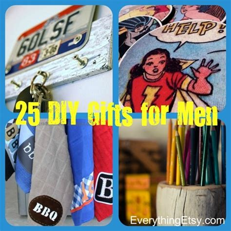 Handmade Gift Ideas For Guys - 25 handmade gifts for diy