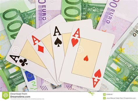 Win Lots Of Money Free - poker of four aces royalty free stock images image 6368049
