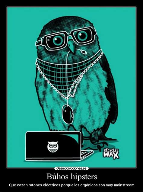 imagenes de buhos hipster b 250 hos hipsters desmotivaciones