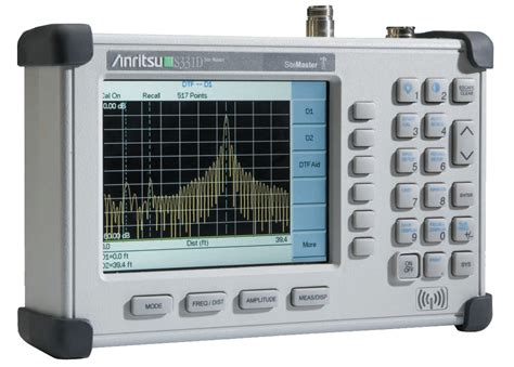 Site Master Anritsu S331d anritsu s331d site master cable and antenna analyzer avalon test equipment