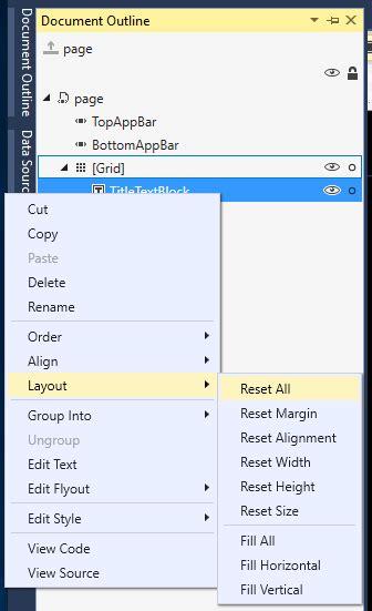 tutorial uwp create a user interface tutorial uwp app developer