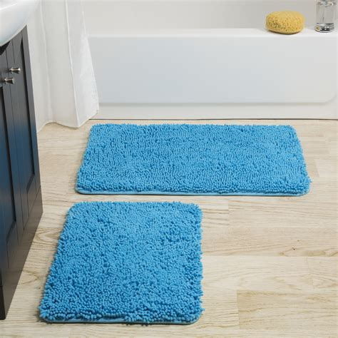 bathroom floor mats rugs lavish home 2 bath mat set reviews wayfair